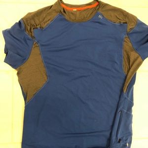 Men's XXL Lululemon Tech Royal Blue T-Shirt